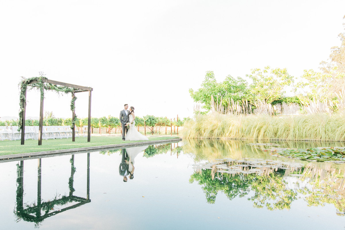 Reflection Pond Cornerstone Weddings
