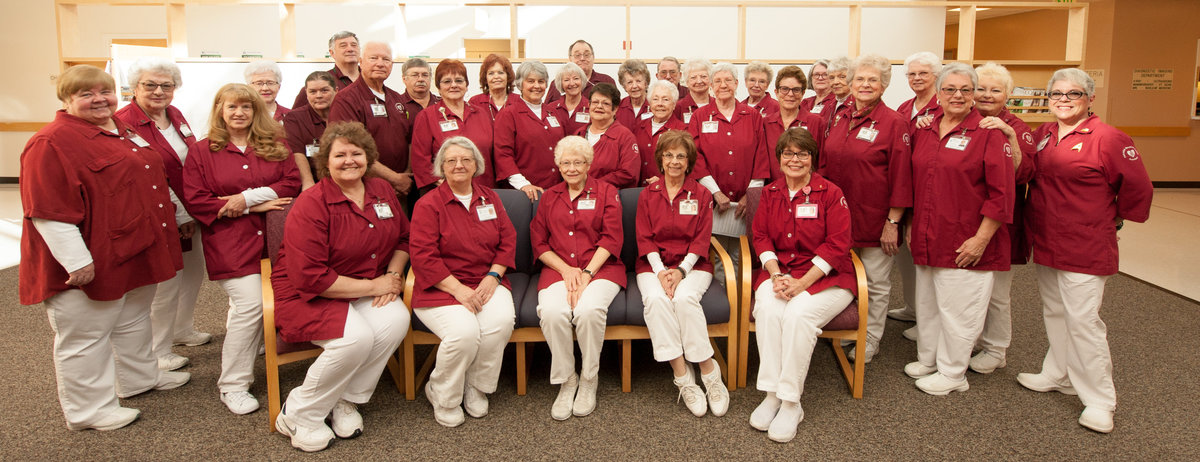 Group photo of the FMC Auxiliary members taken in 2018