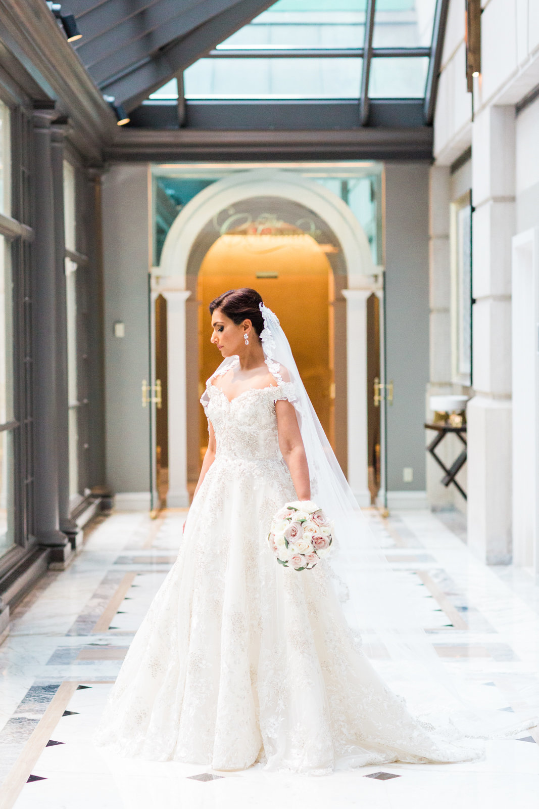 Fine art DC bridal portrait photographer