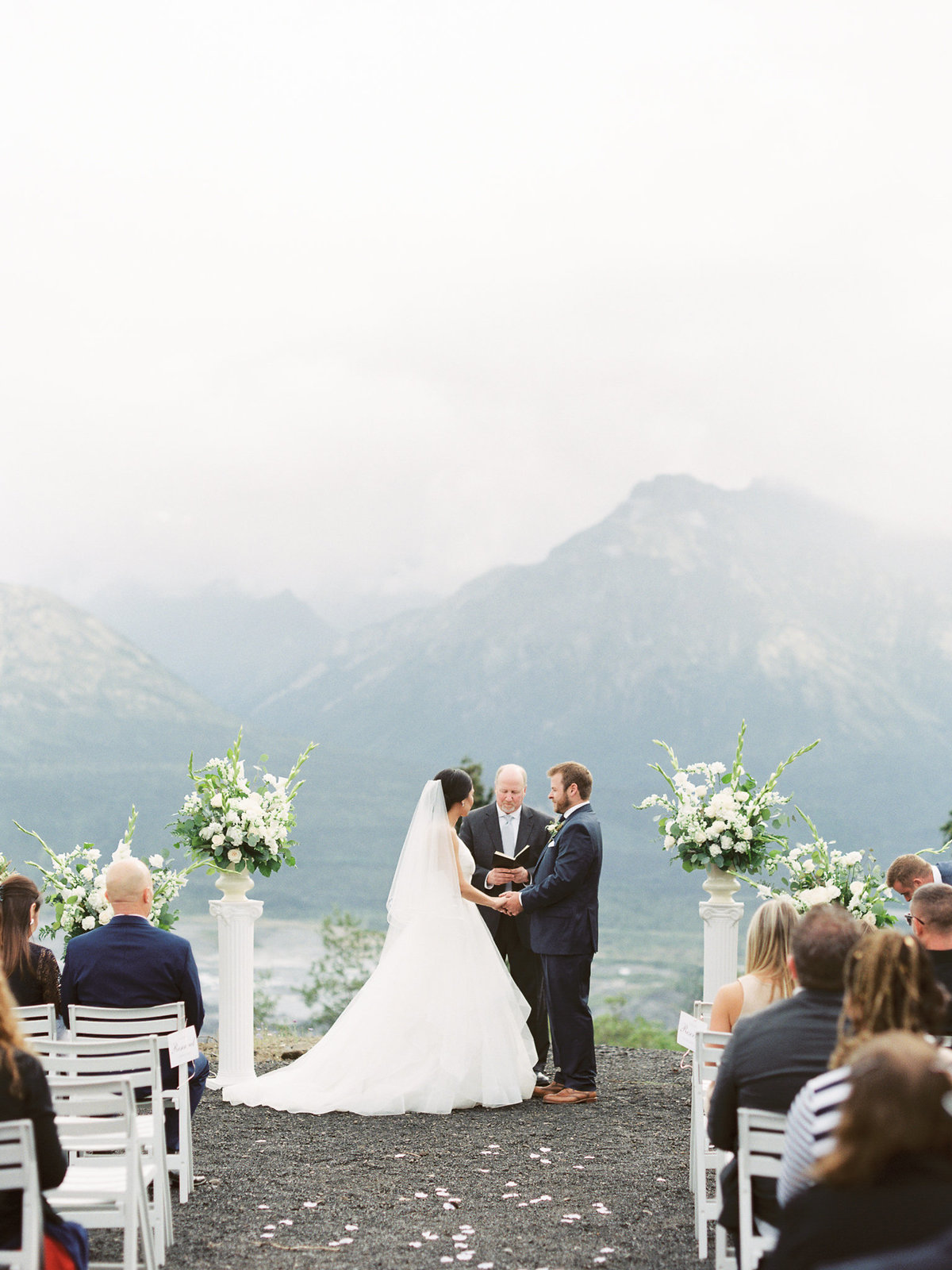 Alaska glacier wedding film photographer