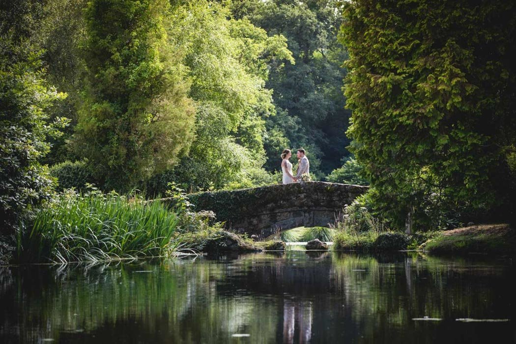 Bridal photo at Bovey Castle Devon