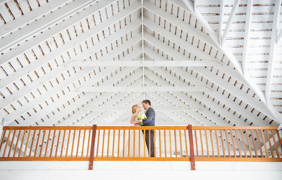 loft at ceremony space at bonnet island estate