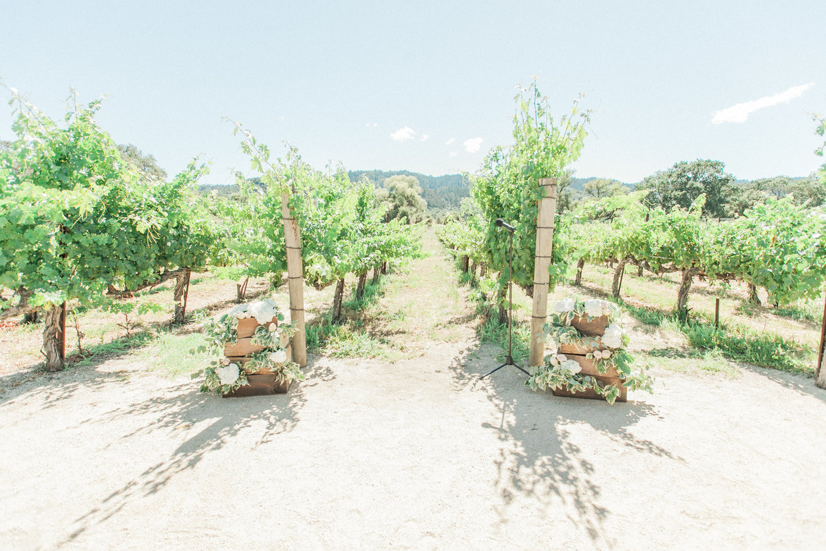Napa Vineyard Wedding Venue