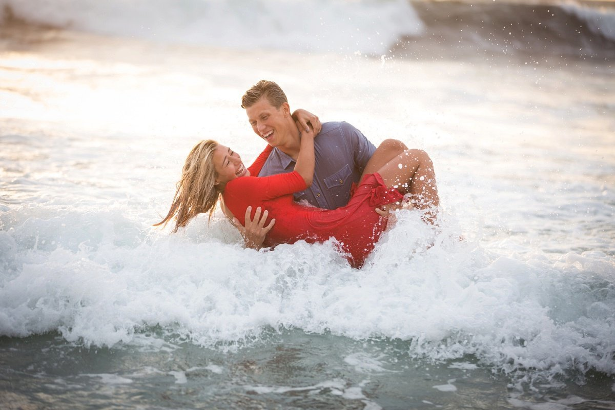 Salt Creek Beach Engagement