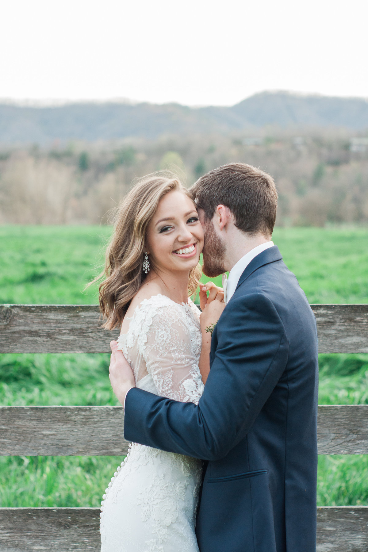 Barn wedding inspiration photographed at Fussell Farm by Boone Photographer Wayfaring Wanderer. Fussell Farm is a gorgeous venue in Millers Creek, NC.