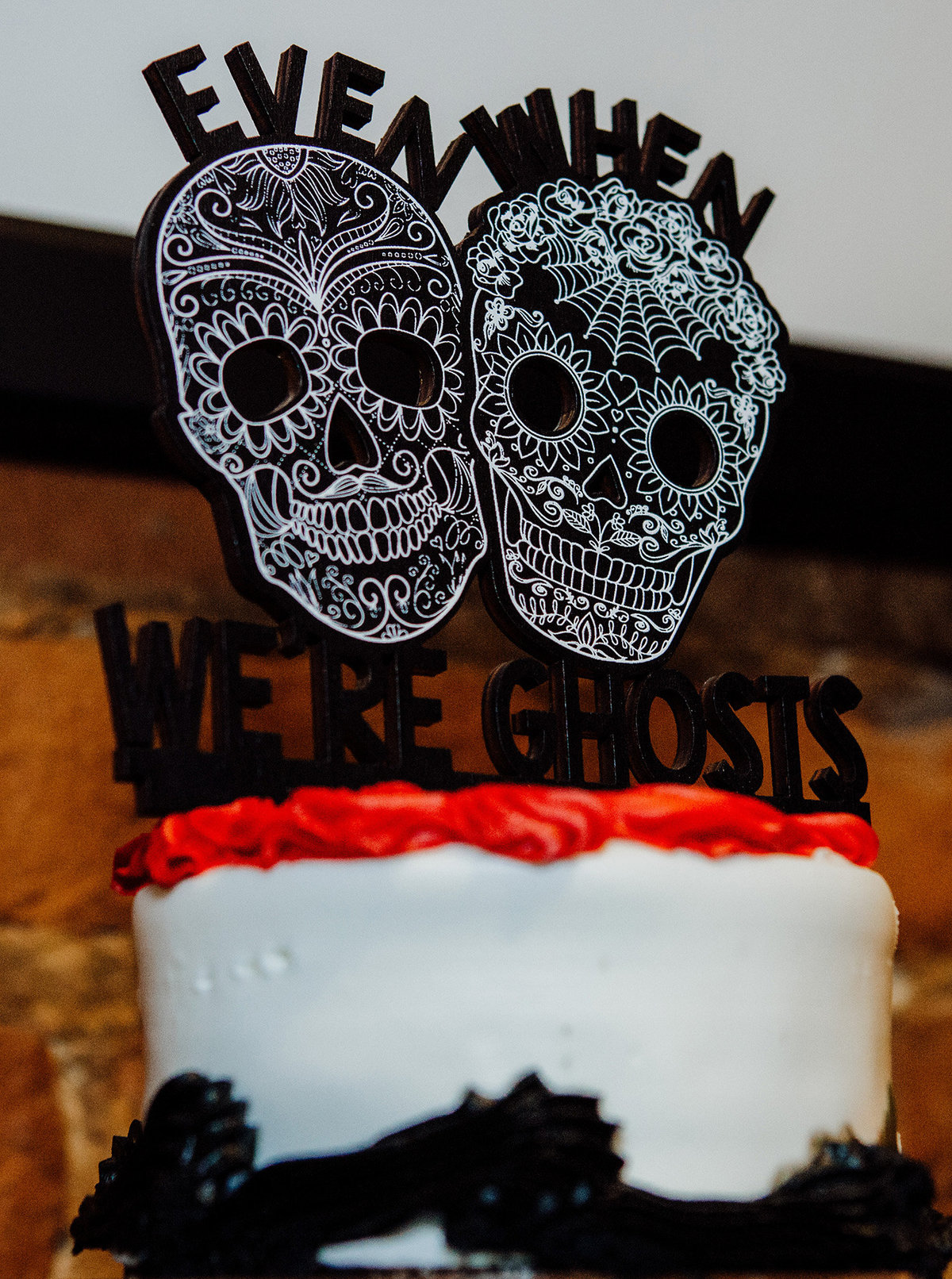 even-when-were-ghosts-cake-topper