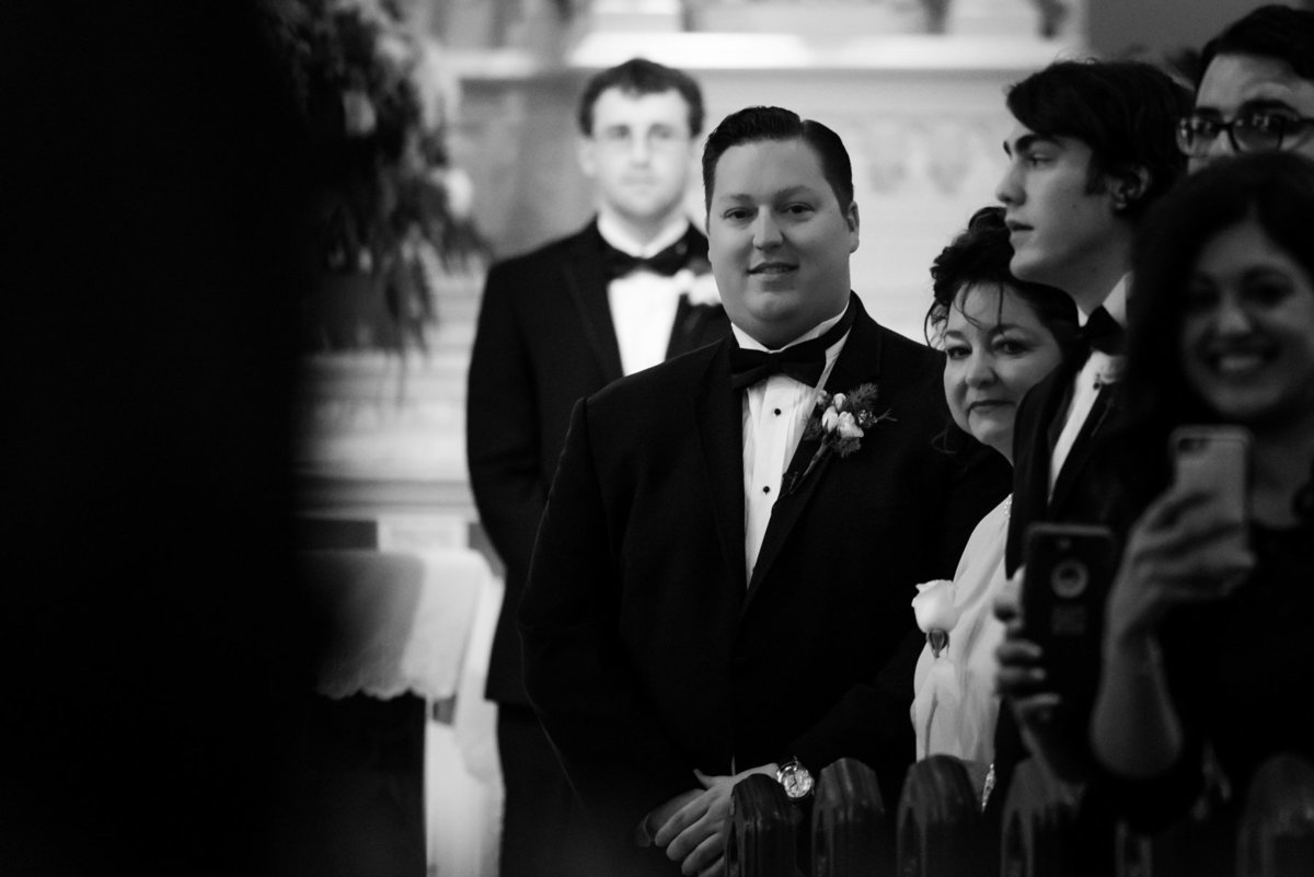 groom seeing bride for first time st peters memphis