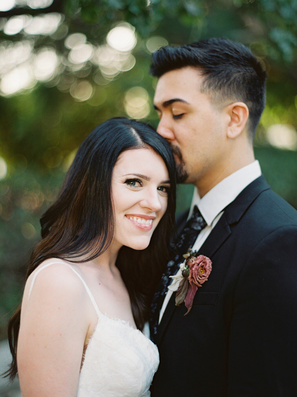 Heritage Museum of Orange County Fall Black and White Wedding Ball Photo Co California Fine Art Film Wedding Elopement Photographer-15