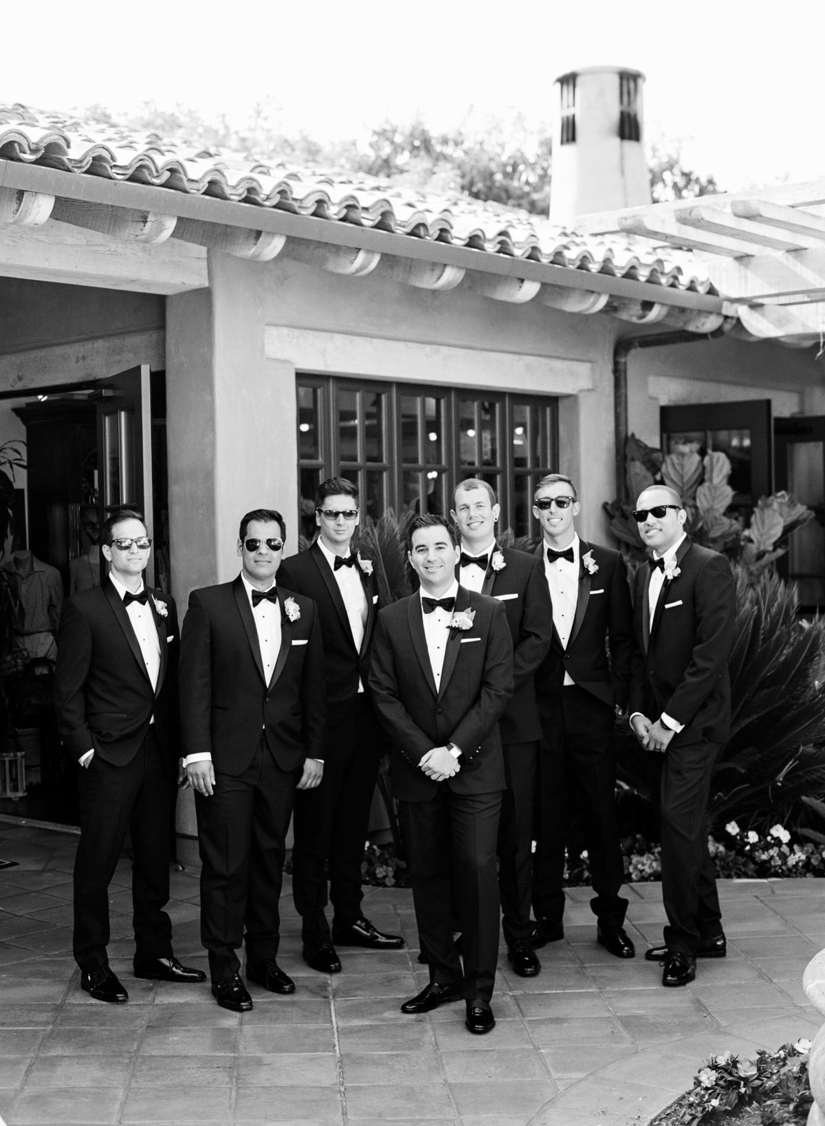 black_white_groomsmen