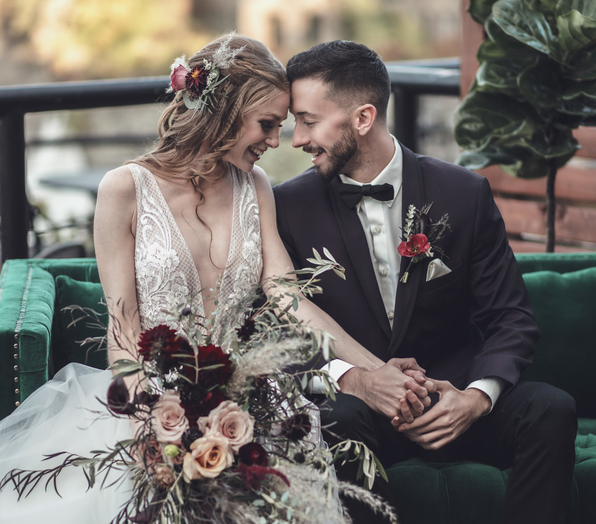 Jewel Toned Boho Fall Wedding Inspiration - Rochester, NY - Verve Event Co (4)