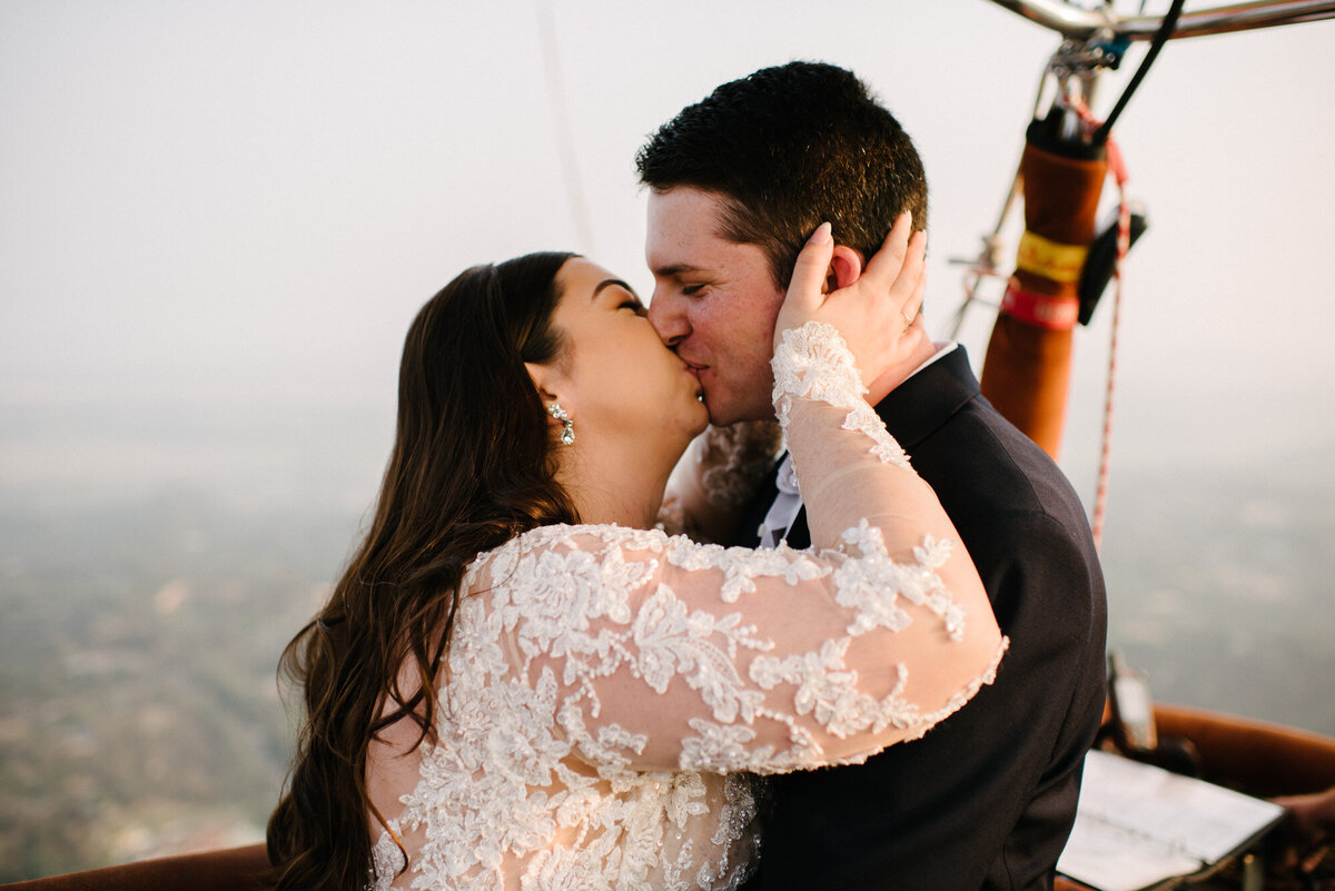 Hot Air Balloon Elopement Marie Monforte Photography-145