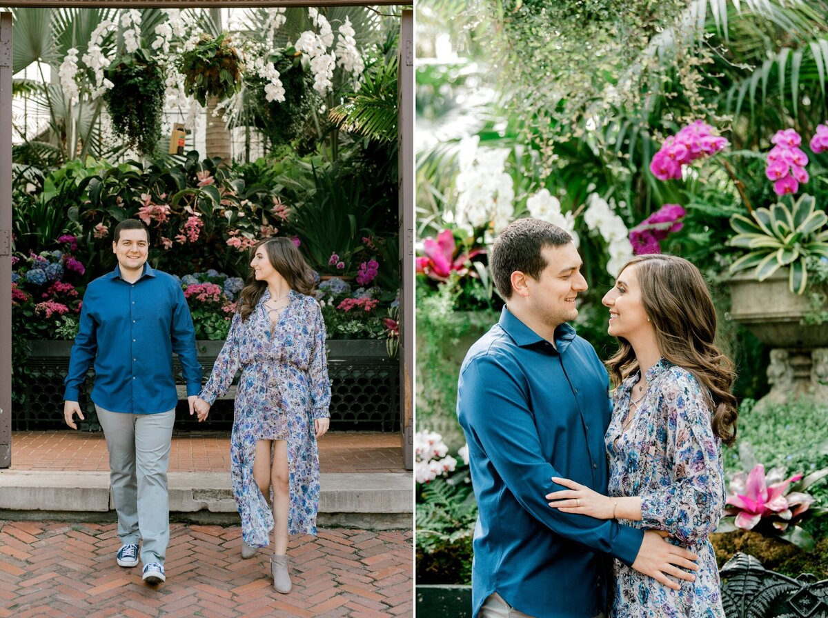 Biltmore Estate Engagement Session 2