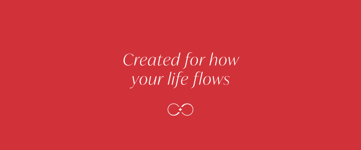 """Created for how life flows"" graphic"