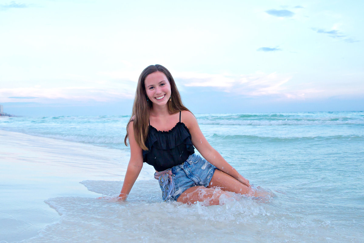 Seagrove Beach Senior photographer