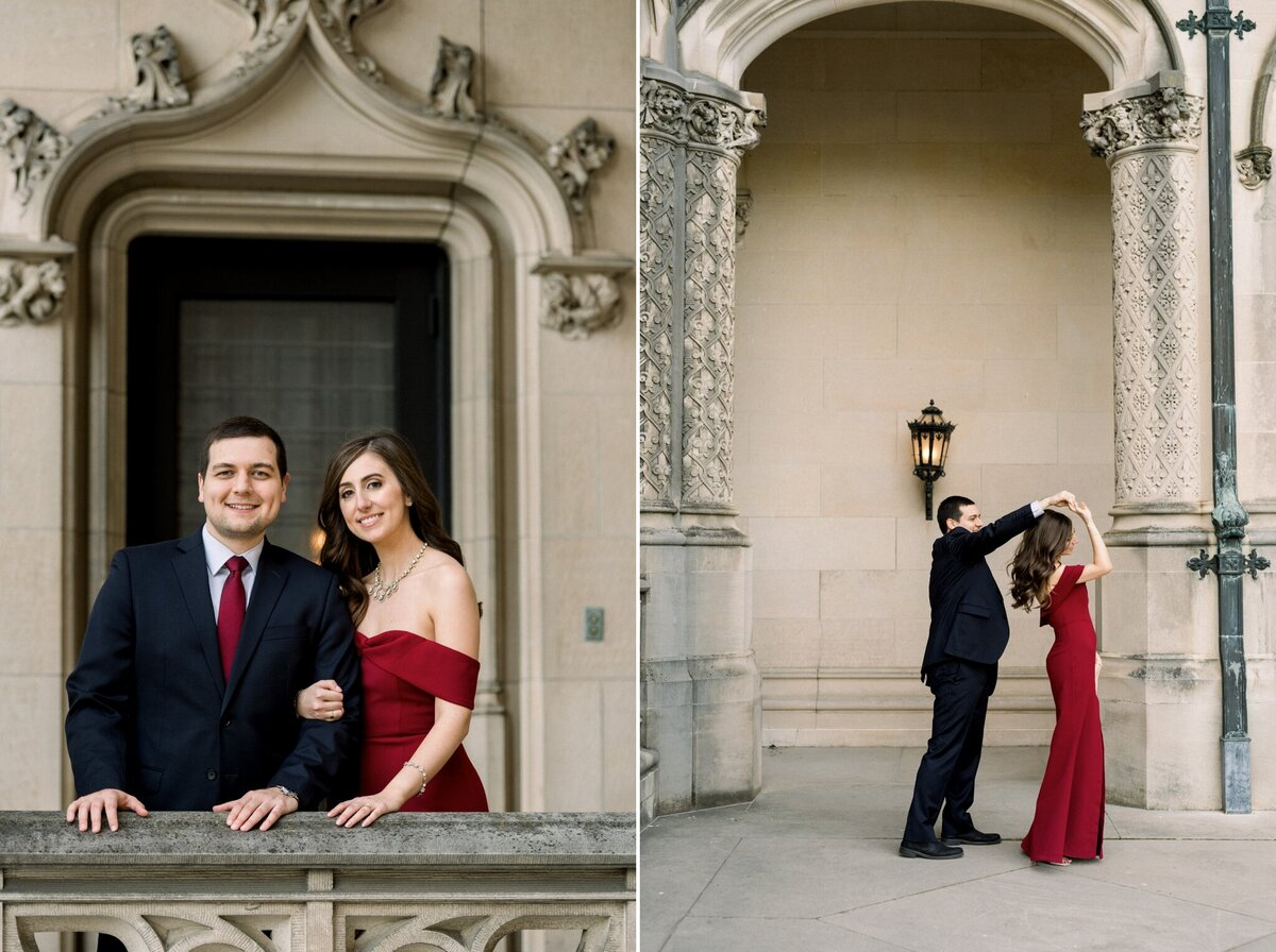 Biltmore Estate Engagement Session 24