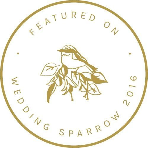 Wedding+Sparrow+Badge