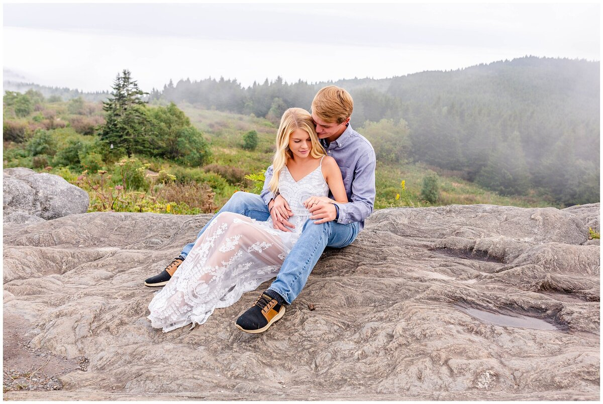 Black Balsam Knob - Asheville Engagement Photographer - Tracy Waldrop Photography_0330