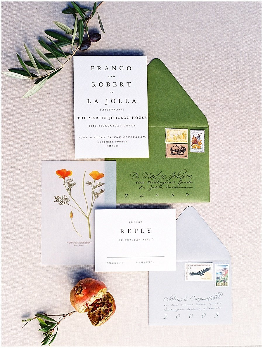 Minted Wedding Invitations California