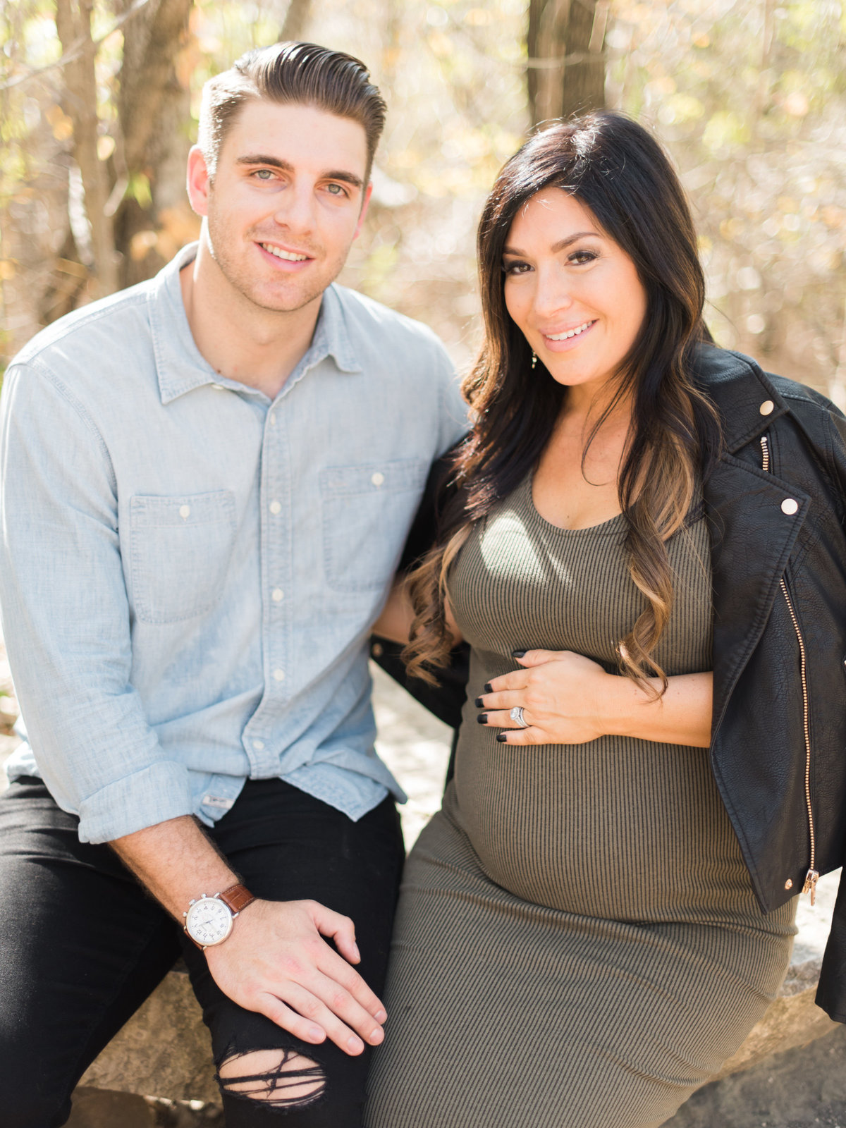 Courtney Hanson Photography - Trendy Dallas Maternity Session-2501