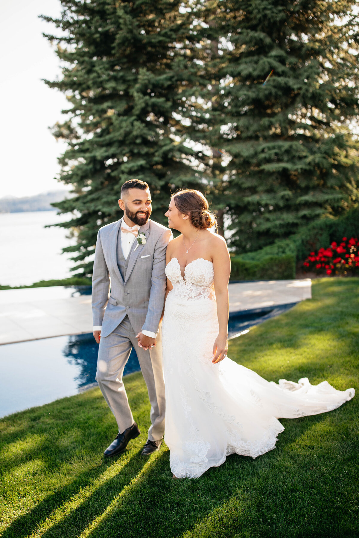 Top Wedding Photographer in Coeur d'Alene Idaho - Clara Jay Photo