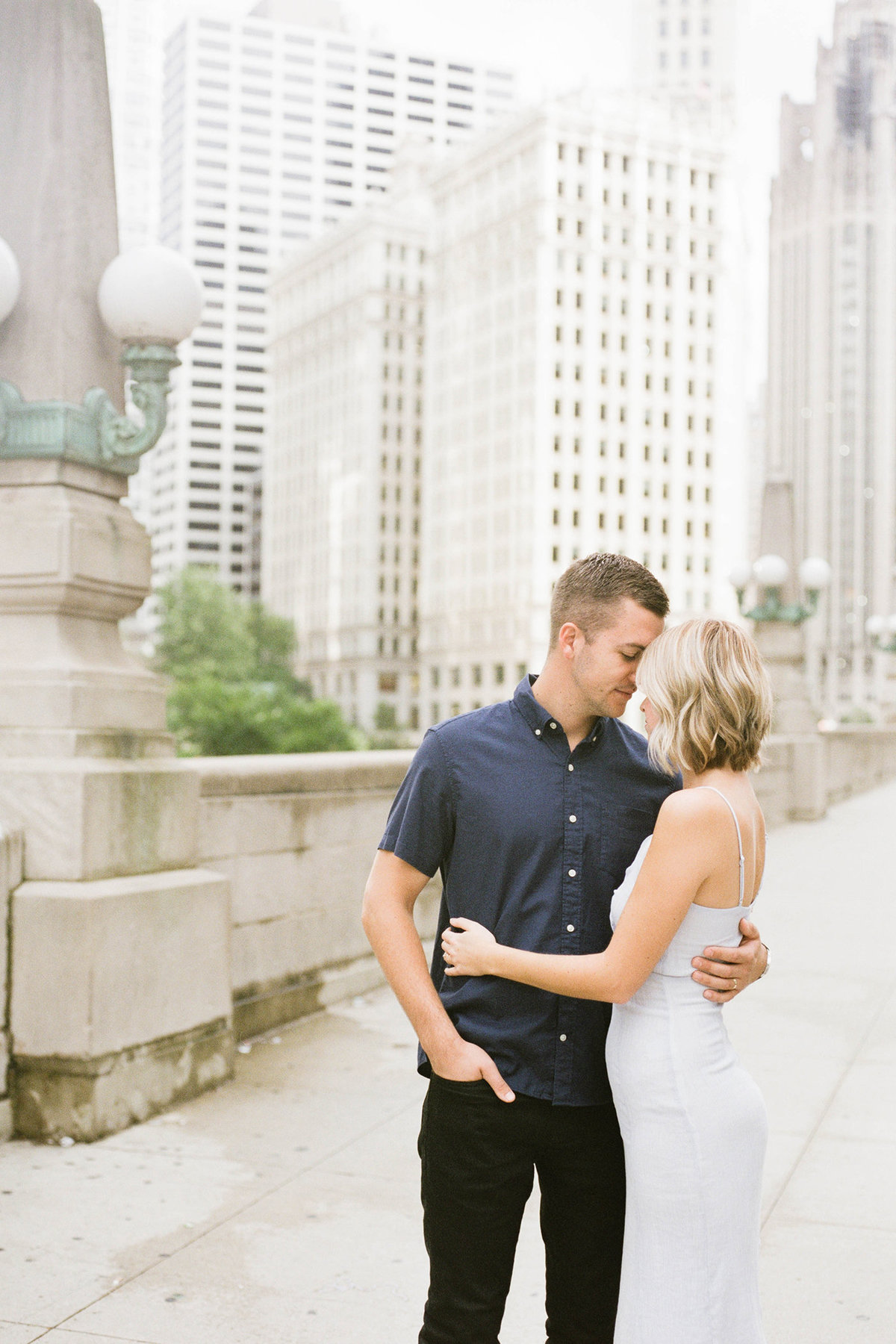 Chicago Wedding Photographer - Fine Art Film Photographer - Sarah Sunstrom - Sam + Morgan - Engagement Session - 3
