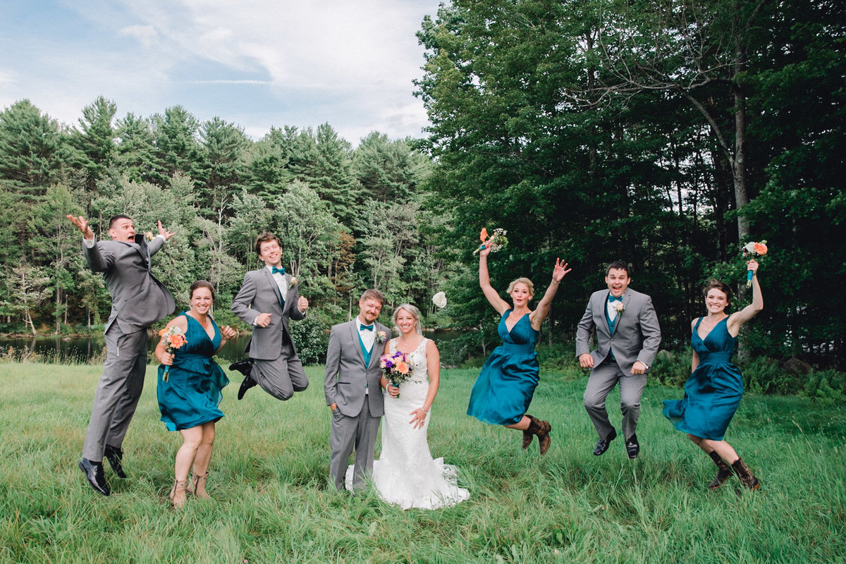 New Hamsphire-wedding-bridal party