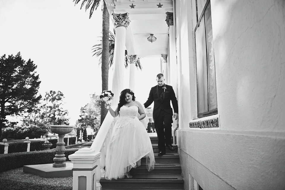 Jefferson Street Mansion Wedding, Benicia, California
