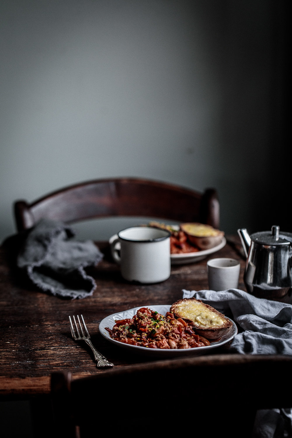 Homemade Beans with Smoked Bacon Crumbs | Anisa Sabet | The Macadames-71