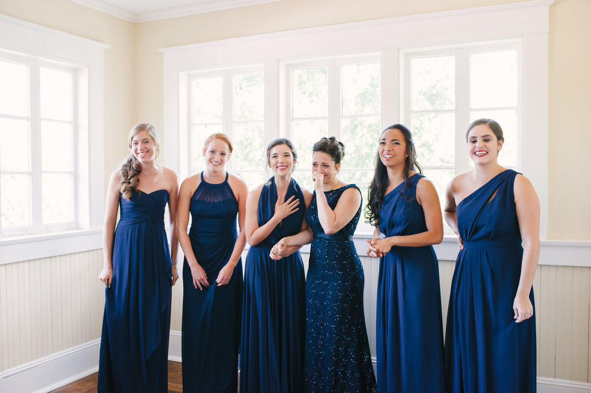 Bridesmaids at Taylor Grady House