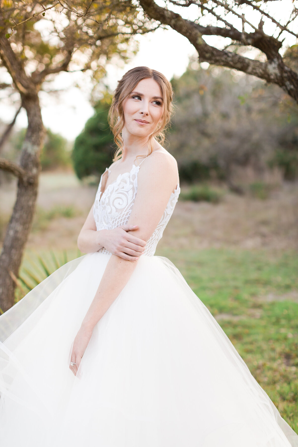 dripping springs bridal portraits