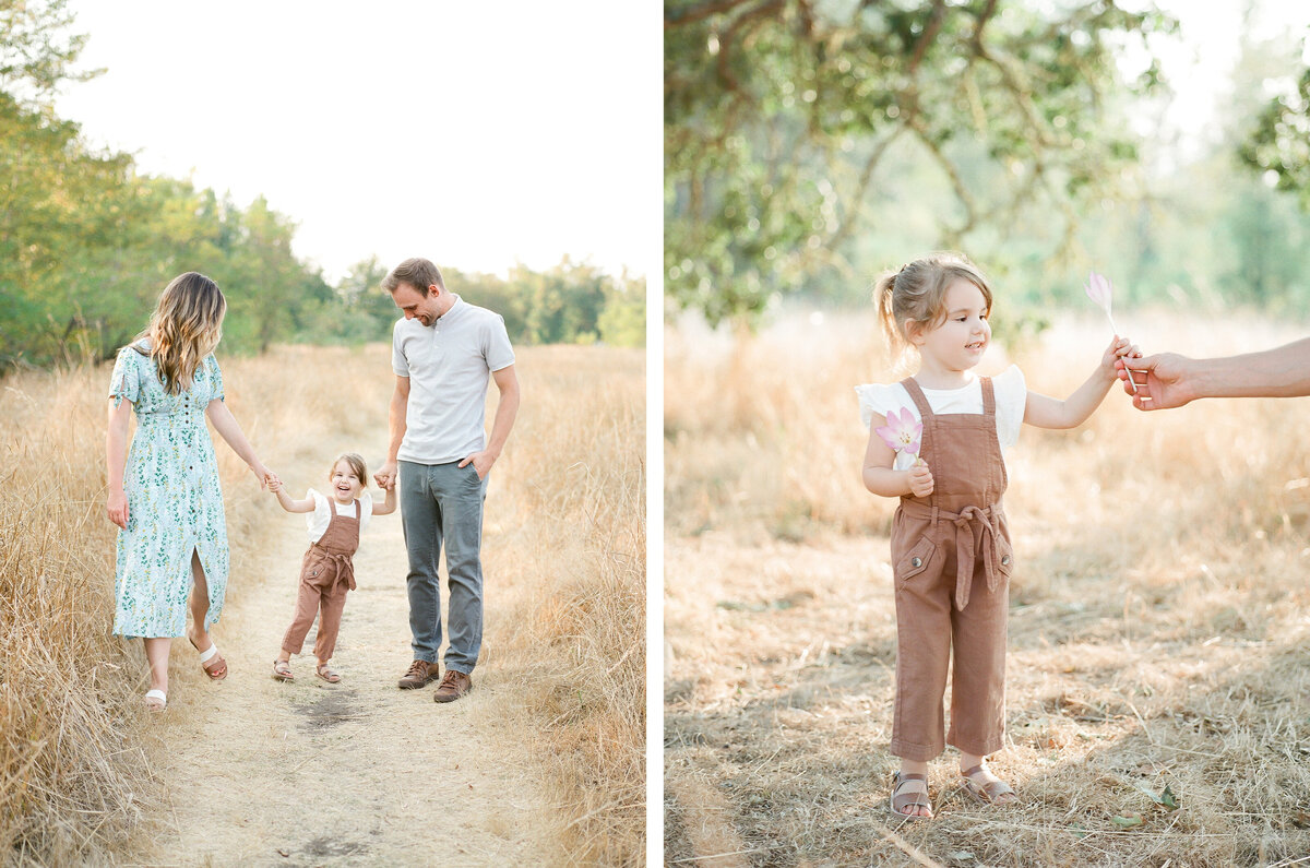 Fort Steilacoom Park Family Session - Film Family Photography - Seattle - Fine Art - Light and Airy - Family photos - 5
