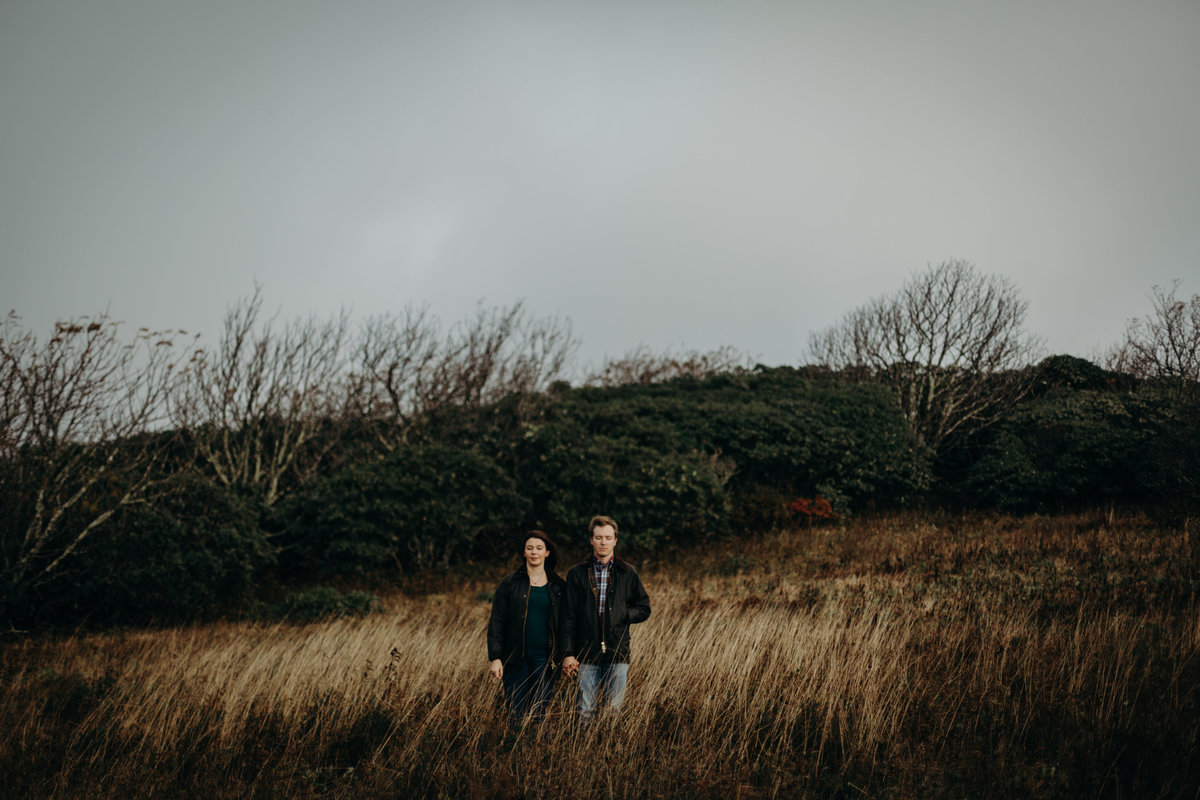 Craggy Gardens  engagement session by Greenville wedding Photographer Simply Violet Photography