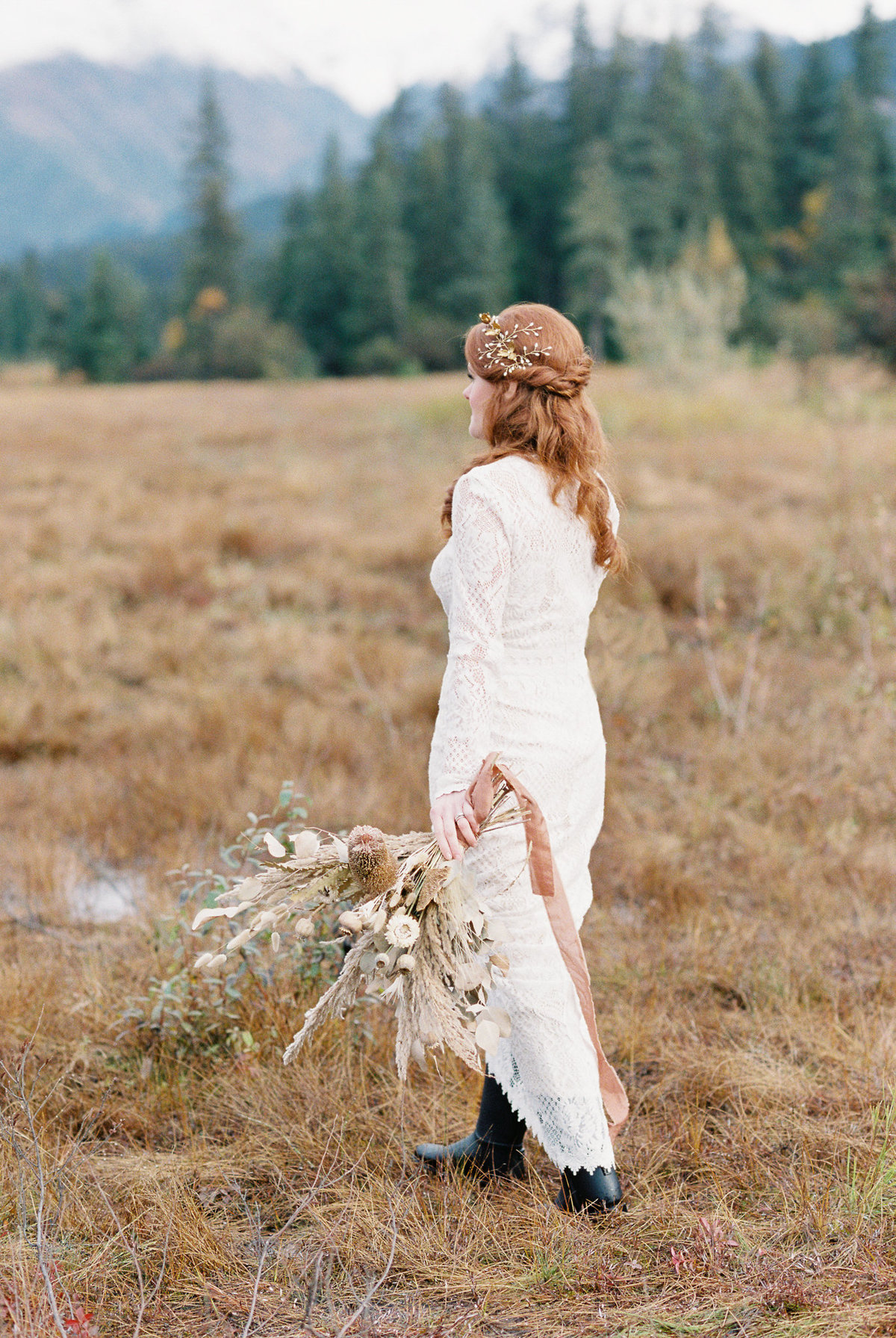 Girdwood bride