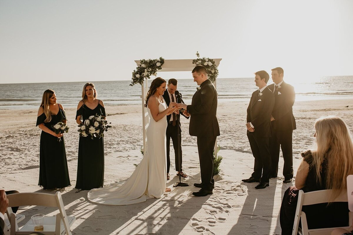 Double Tree North Redington Beach Florida-Wedding-Brittany and Bruce372