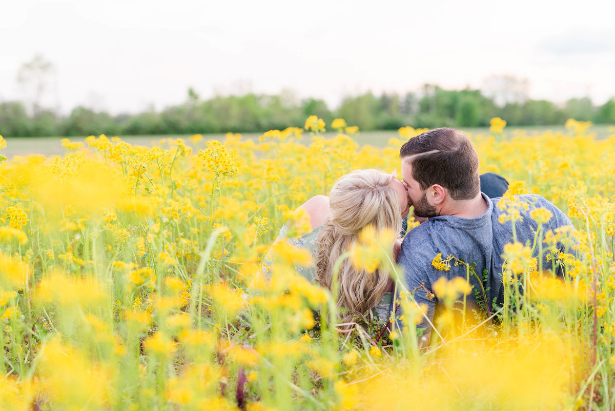 Dayton Ohio Engagement Photography by Rachael Leigh Photography