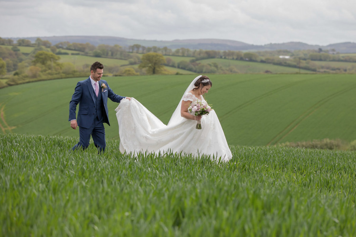 Wedding at The Oak Barn in Devon