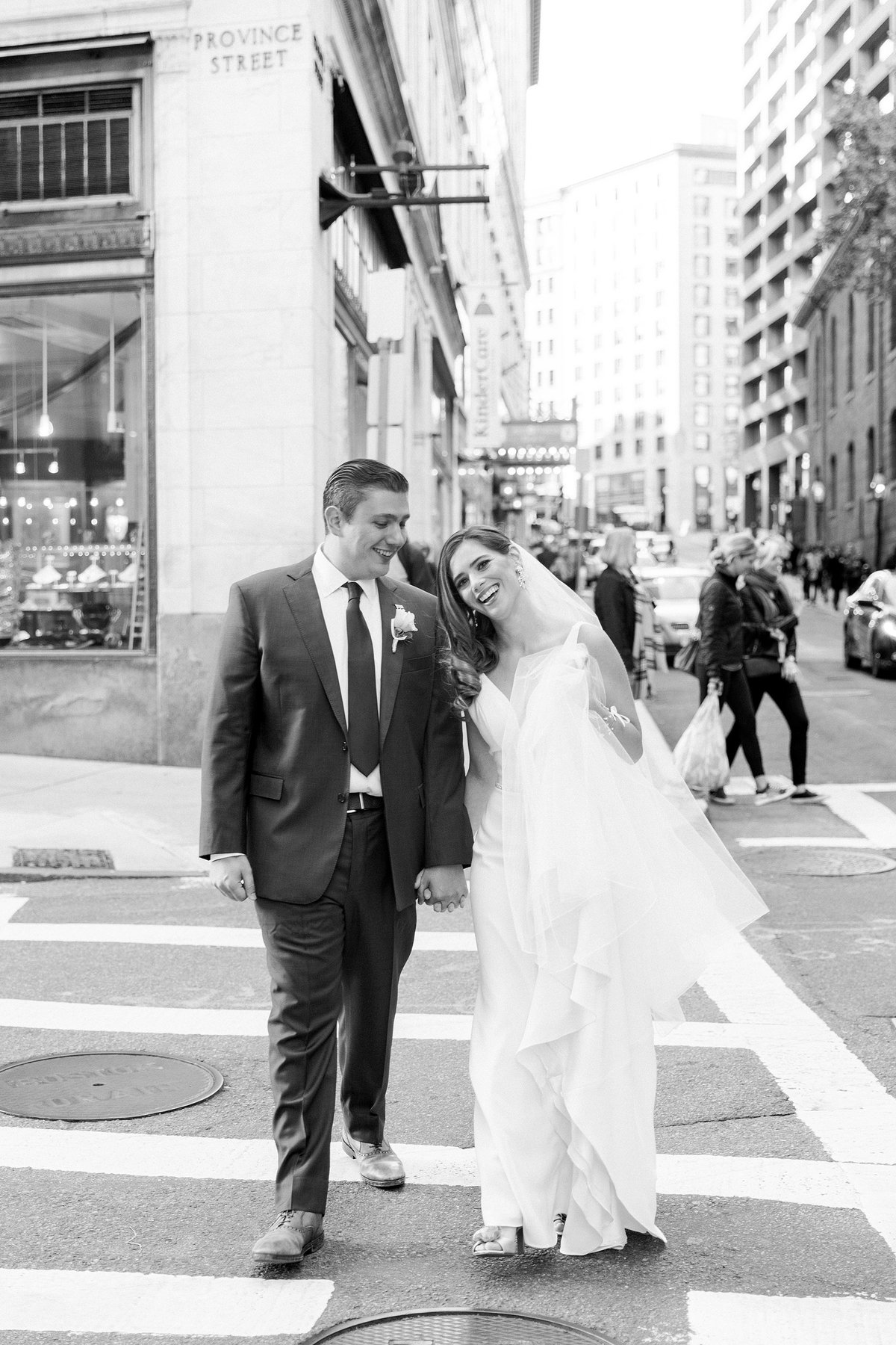 Omni Parker House Boston Wedding Photos By Halie-First Look-144