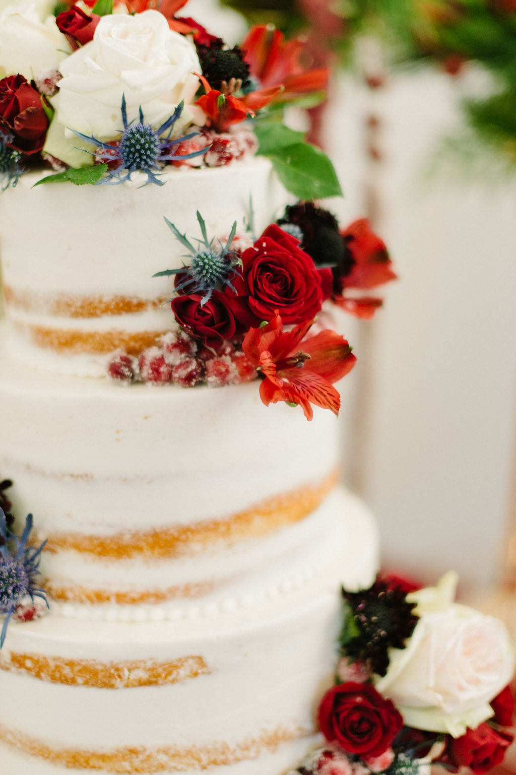Wedding Cake by Blue Cake Co. / Tyler Rosenthal Photography
