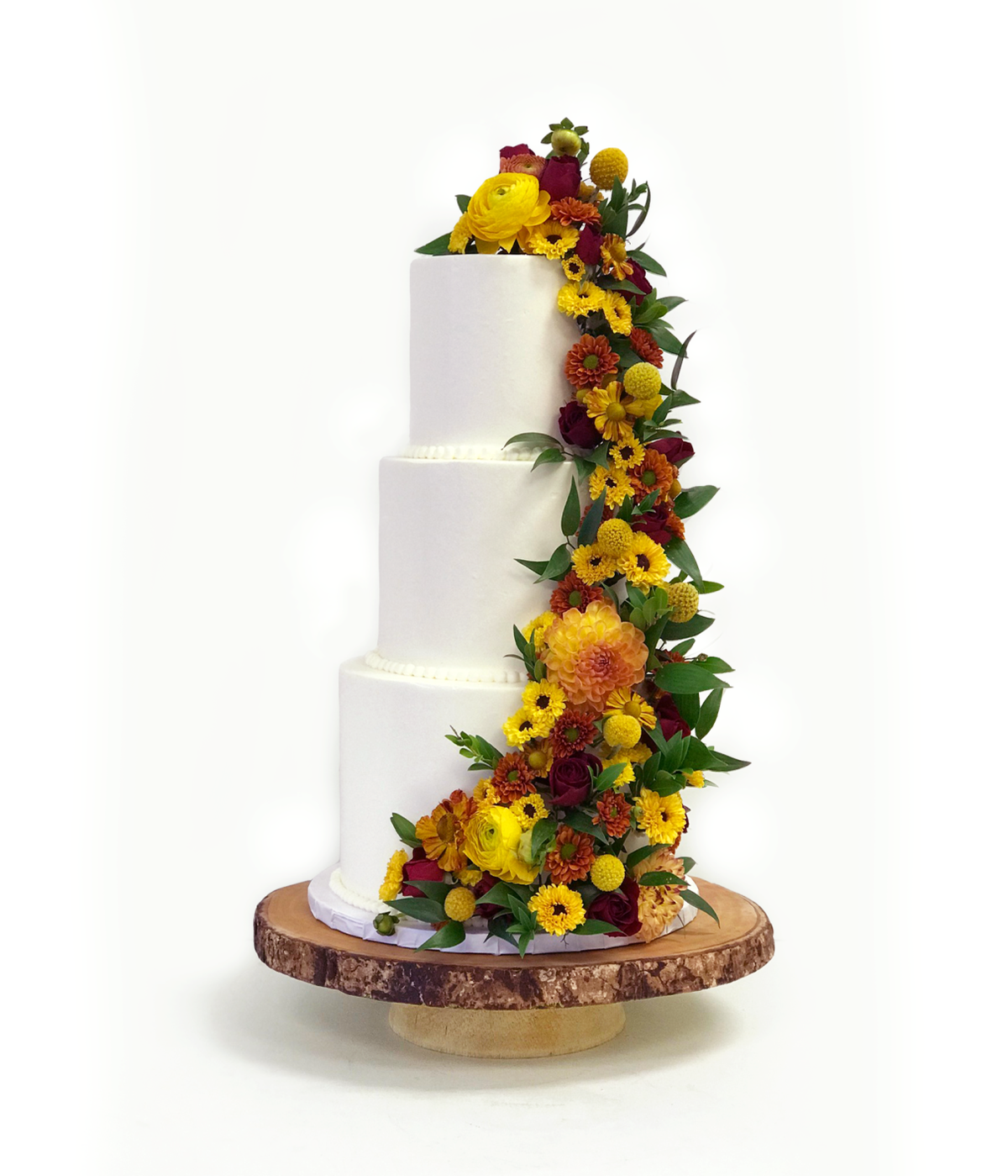 Whippt Desserts - Wedding Cake Sept 2018 - Flowers Fleurish