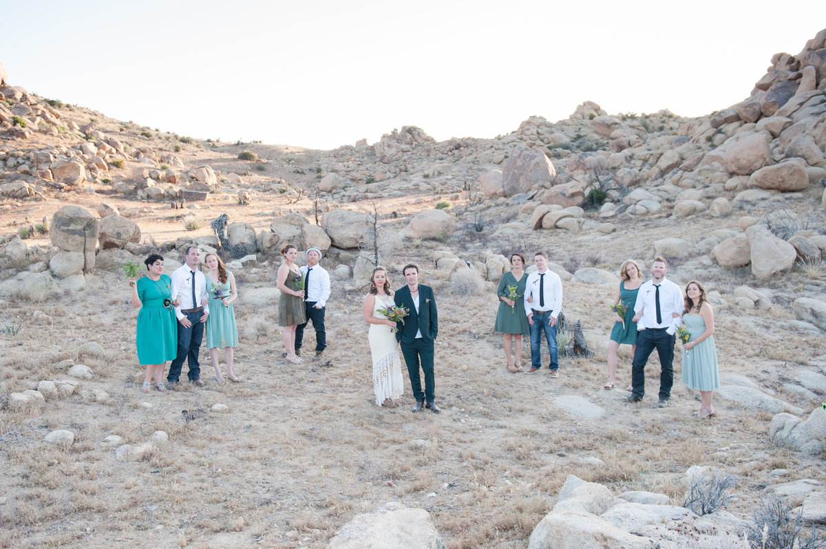 Destination Wedding Photography Joshua Tree Wedding Photography Le Haut Desert Aerie072