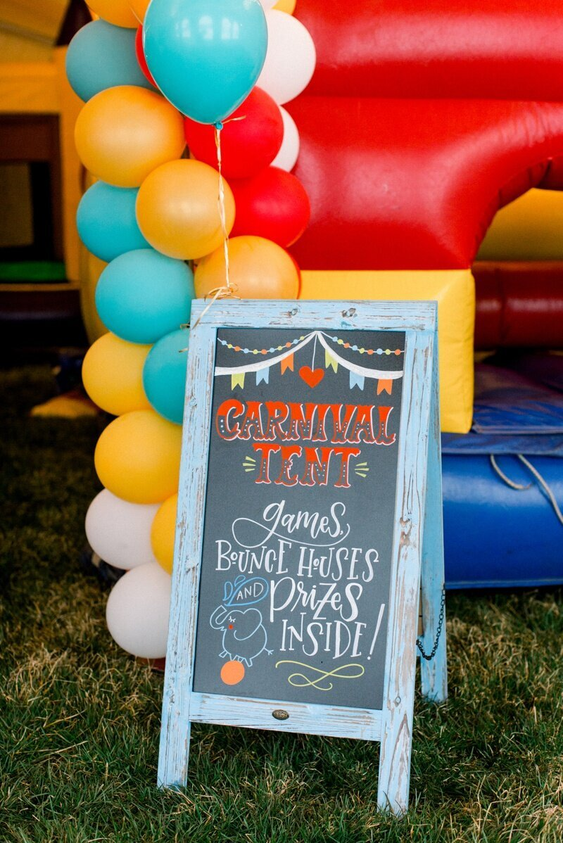 Circus Themed 1st Birthday Indianapolis Party Planner_0016