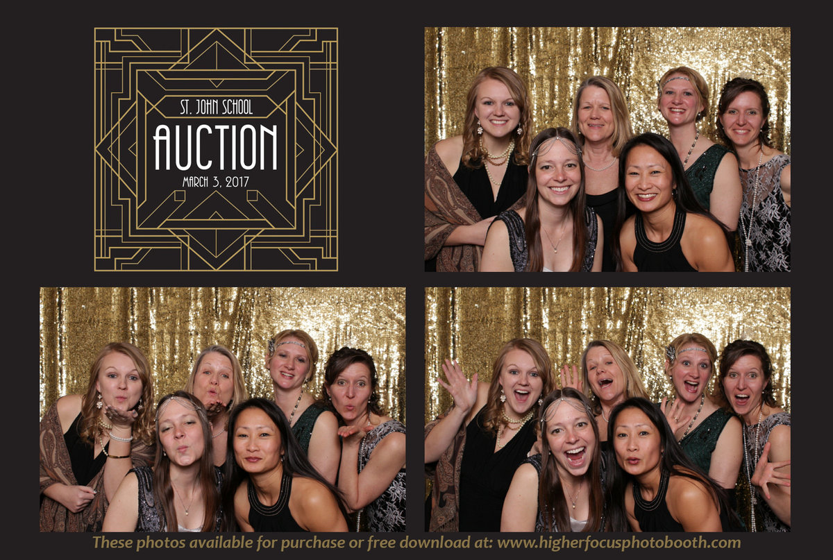 Auction Photo Booth Pictures