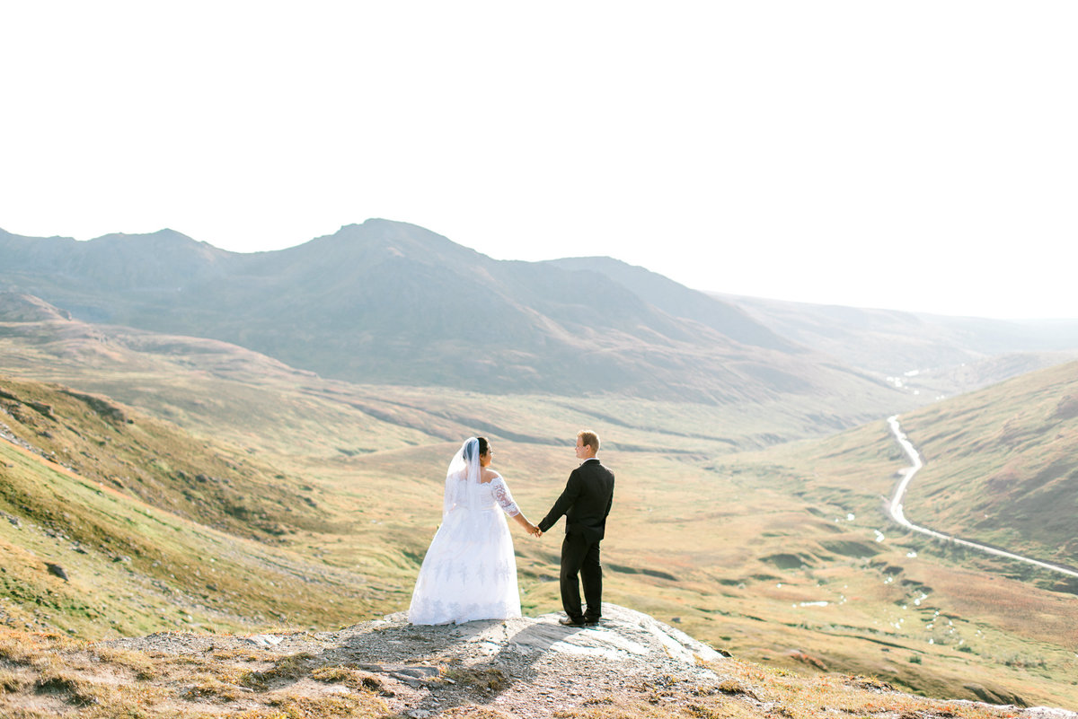Summit Lake elopement