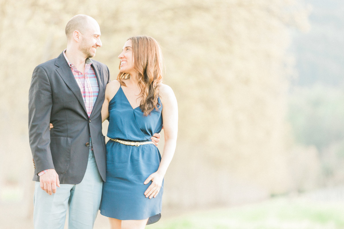 Rutherford Winery Engagement Napa