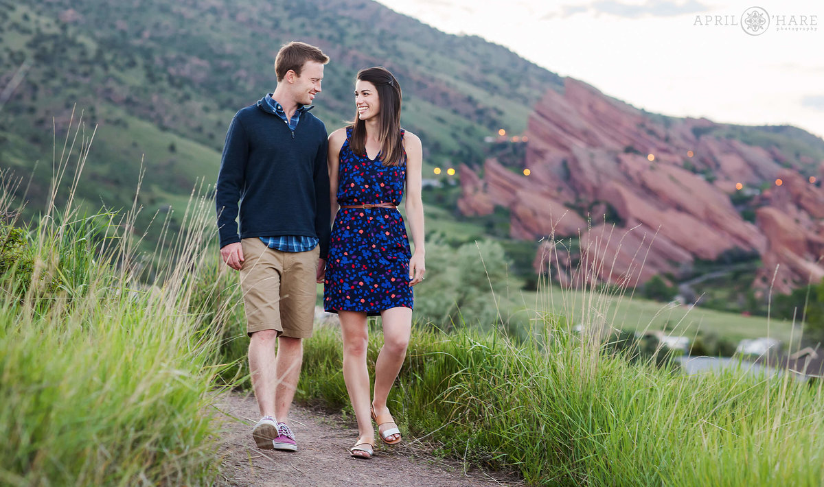 Red Rocks Mount Falcon Engagement Photography Mount Falcon East Trailhead