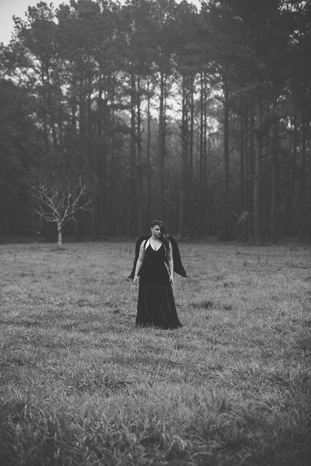 black-and-white-dark-angel-moody-erie-foggy-morning-mysterious-breaking-tradition-jacksonville-fl