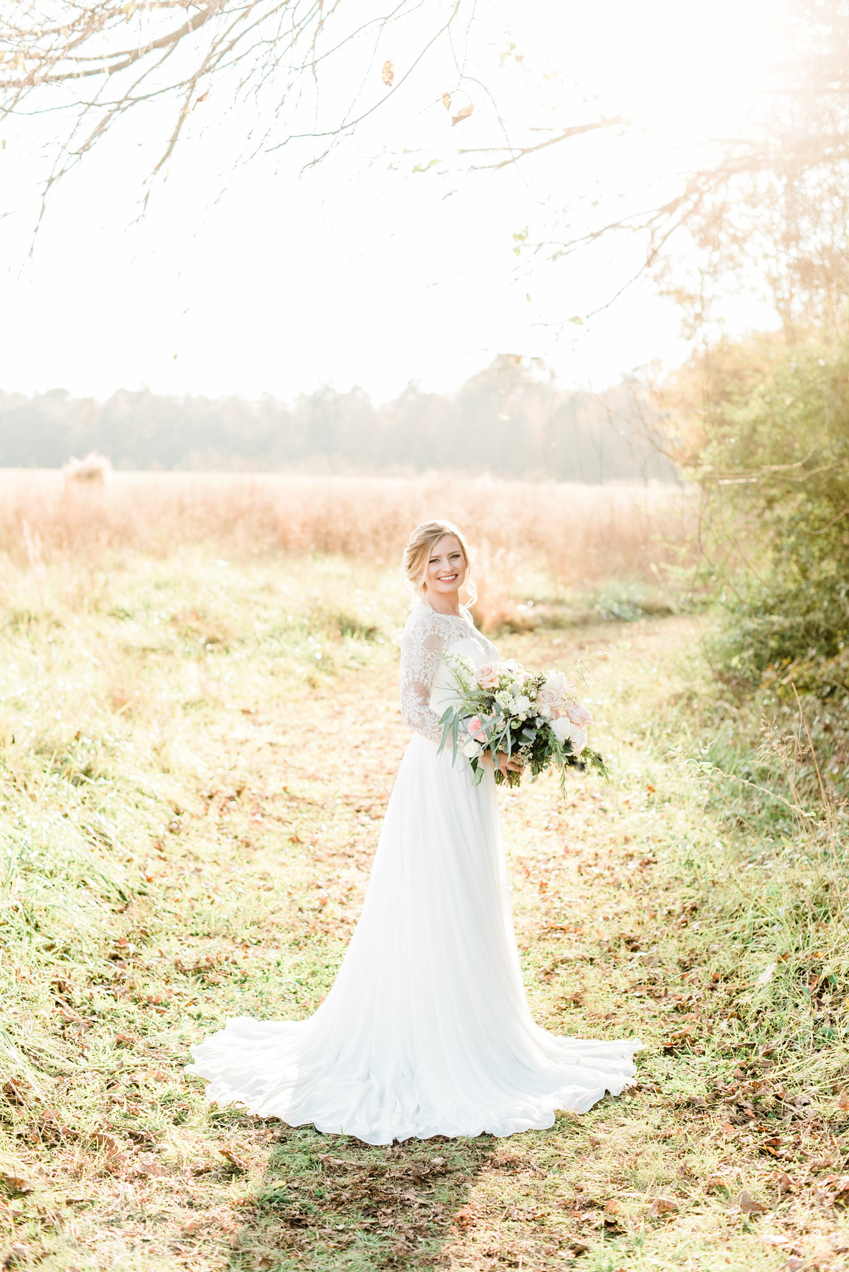 raleigh bridal portraits photo