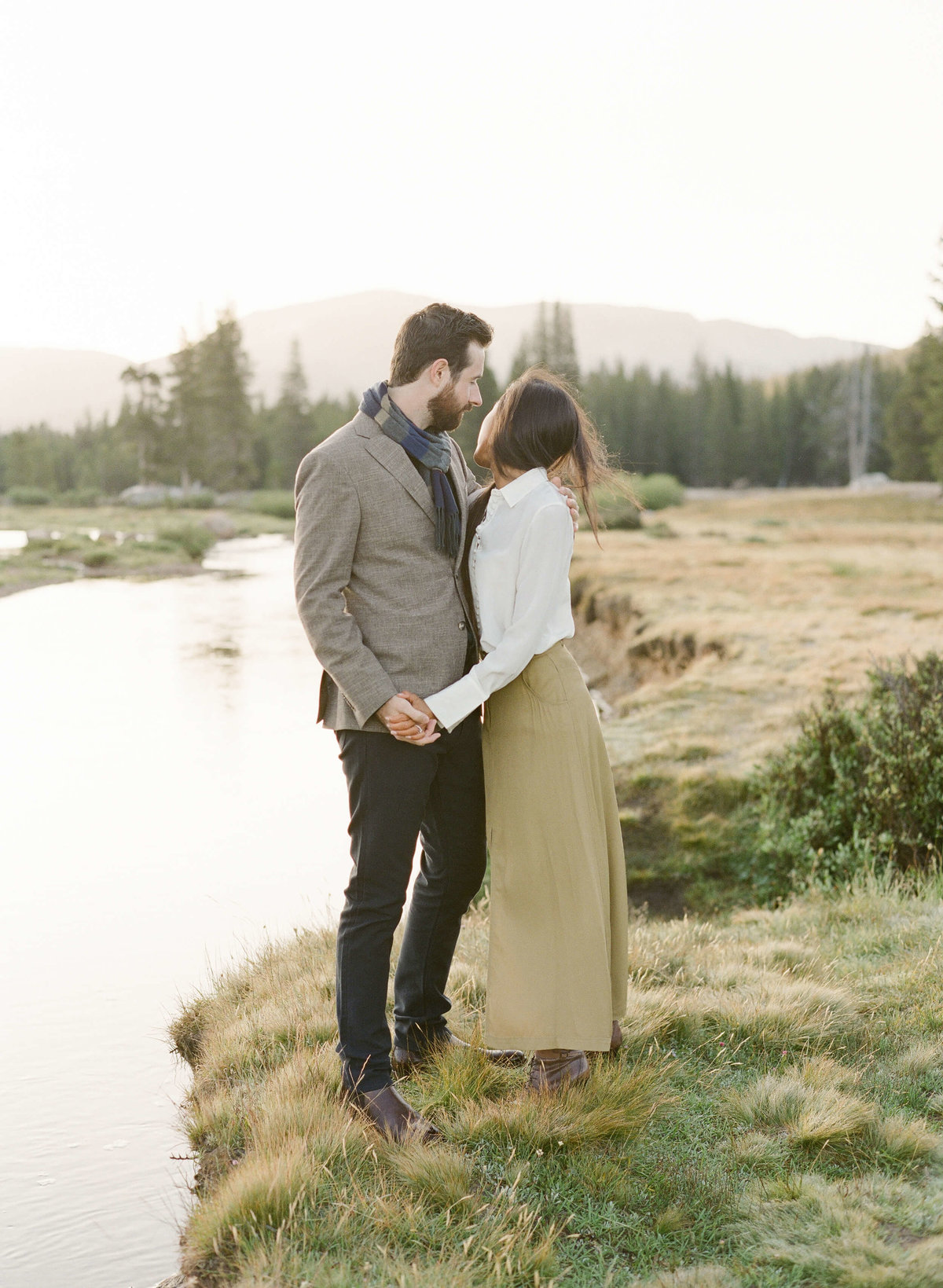 27-KTMerry-engagement-photography-Yosemite-park-stream