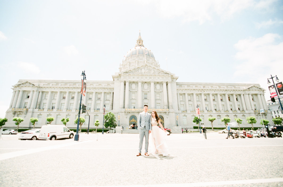 San Francisco City Hall Wedding Photography Evonne and Darren