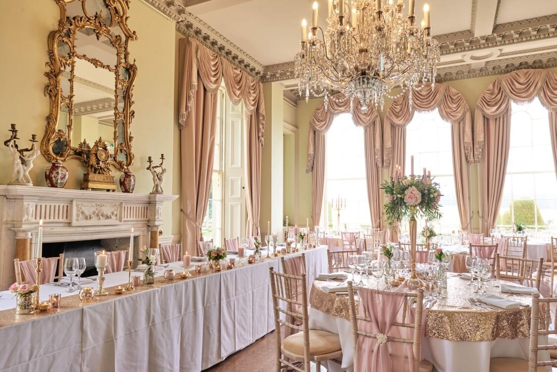 Dusky pink and gold wedding Prestwold Hall sm(20)